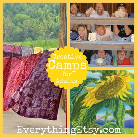 Creative Camps for Adults