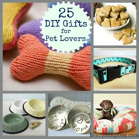 25 Diy Gifts For Pet Lovers Everythingetsy Com