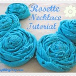 Rosette Necklace Tutorial – DIY Gifts