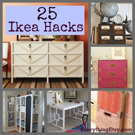 25 ikea hacks diy home decor. Black Bedroom Furniture Sets. Home Design Ideas