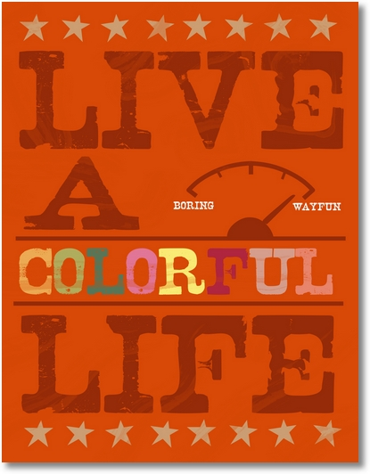 live colorful3 everything etsy Letter