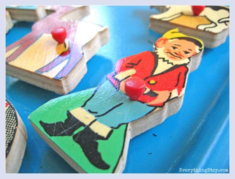 Dwarf Vintage Puzzle Piece Magnets - Everything Etsy 3