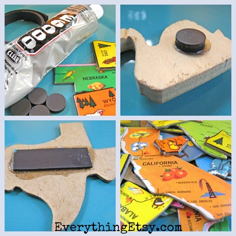 Puzzle Magnets - Glue
