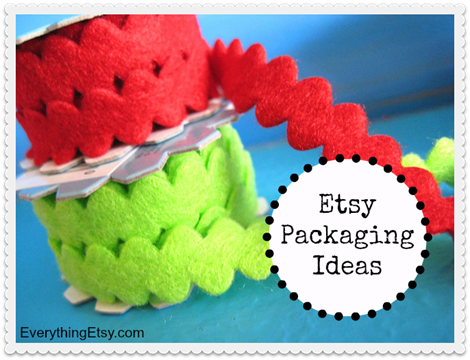 Etsy Packaging Ideas on EverythingEtsy.com