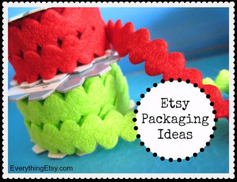 Etsy Packaging Ideas on EverythingEtsy.com
