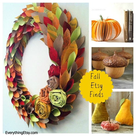 Fall Etsy Finds on EverythingEtsy.com