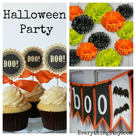 Halloween Party {Etsy Finds} on Everything Etsy