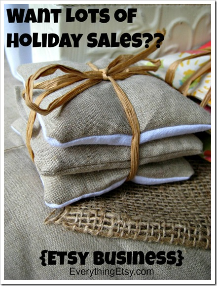 Holiday Sales on Etsy {Etsy Business} EverythingEtsy.com