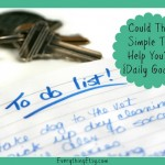 Could This Simple Tip Help You? {Daily Goals}