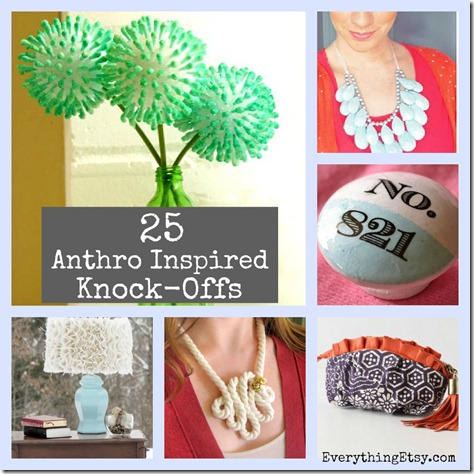 25 Anthropologie Inspired Knock-Offs