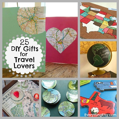 25 Diy Gifts For Travel Lovers Everythingetsy Com