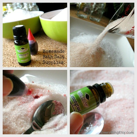 Bath Salt Process