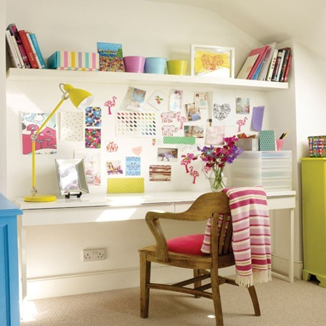 Colourful-home-office