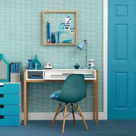 Modern-blue-home-office-Ideal-Home