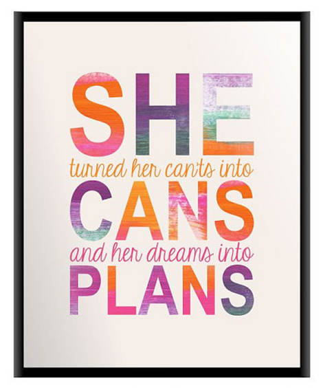 she can by mira doson on Etsy