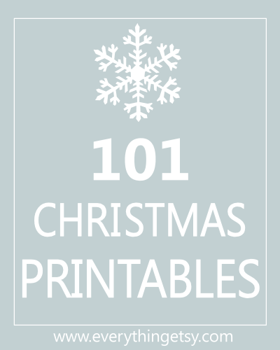 photo relating to Christmas Printable called 101 Xmas Printables Free of charge -