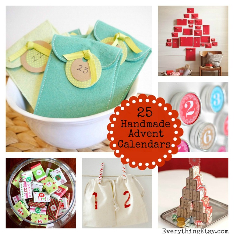 Advent Calendar Handmade : Handmade advent calendars