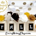 Easy DIY: Chalkboard Jars! {Fall Home Decor}