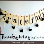 Thanksgiving Tag Bunting {DIY Holiday Home Decor}
