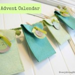 Felt Advent Calendar {Sewing Giveaway}