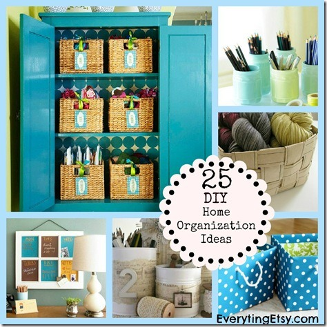 Home Ideas on This Post Has 25 Diy Organization Ideas So You Can Find The Perfect