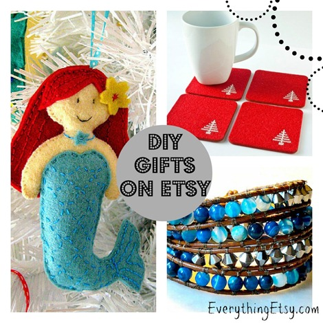 DIY Gifts on Etsy {Handmade Holiday}