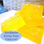 DIY Gift – Handmade Honey Soap Tutorial