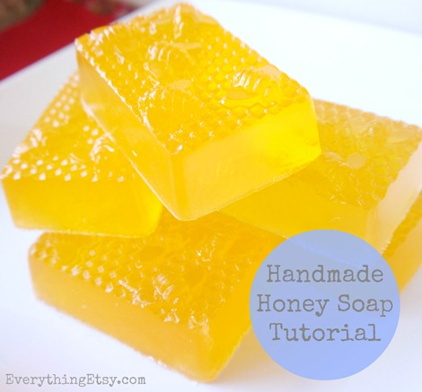 Handmade Honey Soap on Everything Etsy