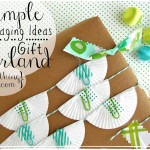 Simple Packaging Ideas — Gift Garland