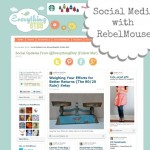 Social Media Page with Rebel Mouse {Blogging}