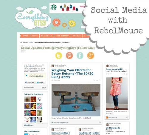 Social Media with Rebel Mouse