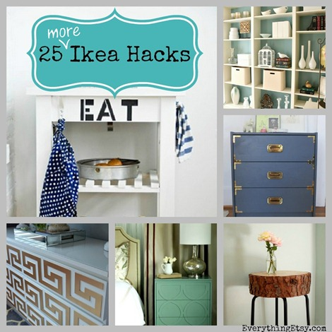 25 More Ikea HacksDIY Home Decor