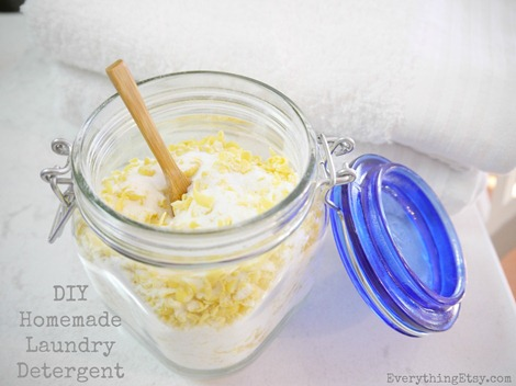 DIY Homemade Laundry Detergent