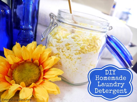 DIY Homemade Laundry Detergent on EverythingEtsy.com