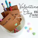 Valentine's Day Mini Notebooks {DIY Gifts}