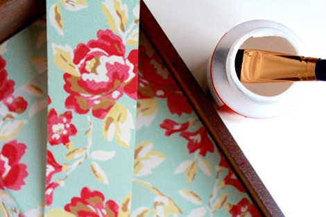 diy decoupaged  drawers ♥ EverythingEtsy.com