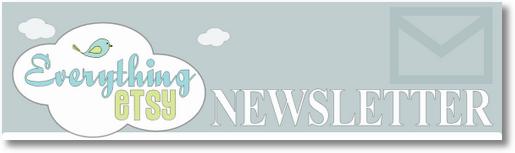 EverythingEtsy Newsletter Subscription Header