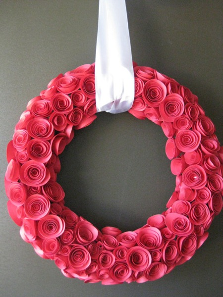 Valentine Wreath Craft