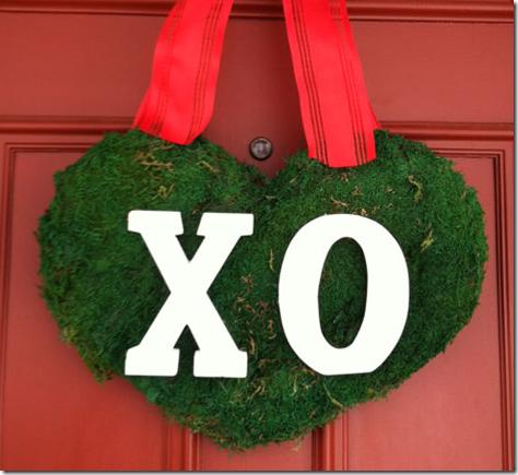 valentine's day wreath handmade