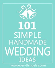 101_Simple_Handmade_Wedding_Ideas_EverythingEtsy