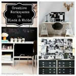 Creative Workspaces in Black & White