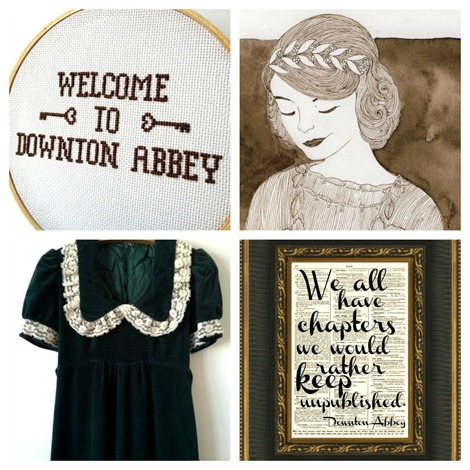 Downton Abbey on Etsy