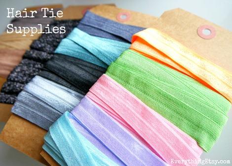 Hair Tie Supplies {DIY}