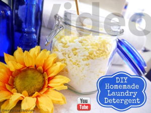 Homemade Laundry Detergent Video at EverythingEtsy.com