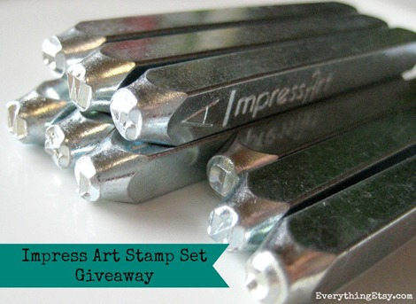 Impress Art Stamp Set Giveaway on EverythingEtsy.com