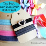 The Best Hair Ties Ever {Tutorial}