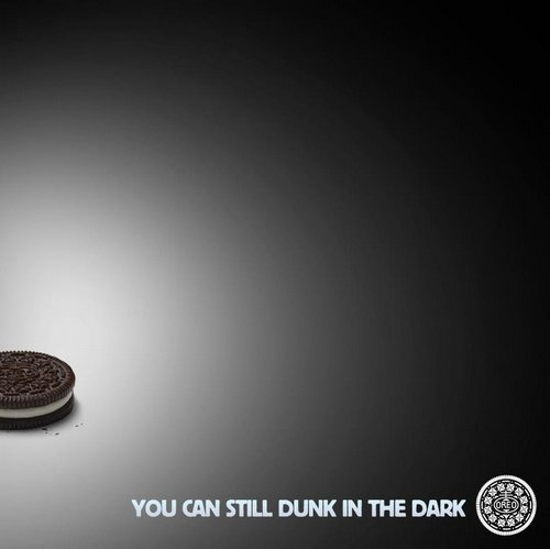 Oreo was super quick with this image on Facebook