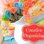 Creative Organizing  {I need it!}
