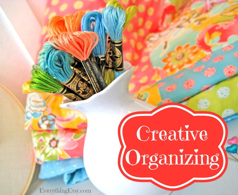 creative organizing i need it