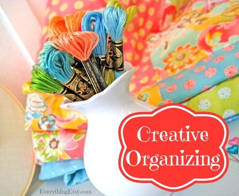 Creative Organizing Ideas on EverythingEtsy.com